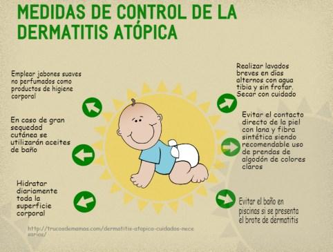 6 MEDIDAS PARA CONTROLAR LA DERMATITIS ATÓPICA  Foto de %title