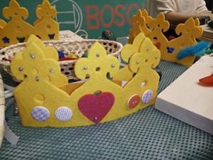 Corona cumpleaños manualides