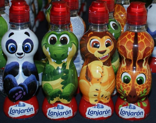 Lanjaron kids botellas agua