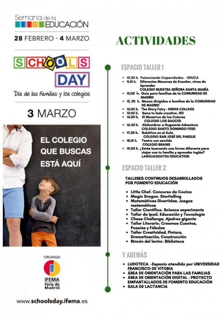 ¿BUSCANDO COLEGIO PARA TUS HIJOS? VISITA EL SCHOOLS DAYS EL 3 DE MARZO  Foto de %title
