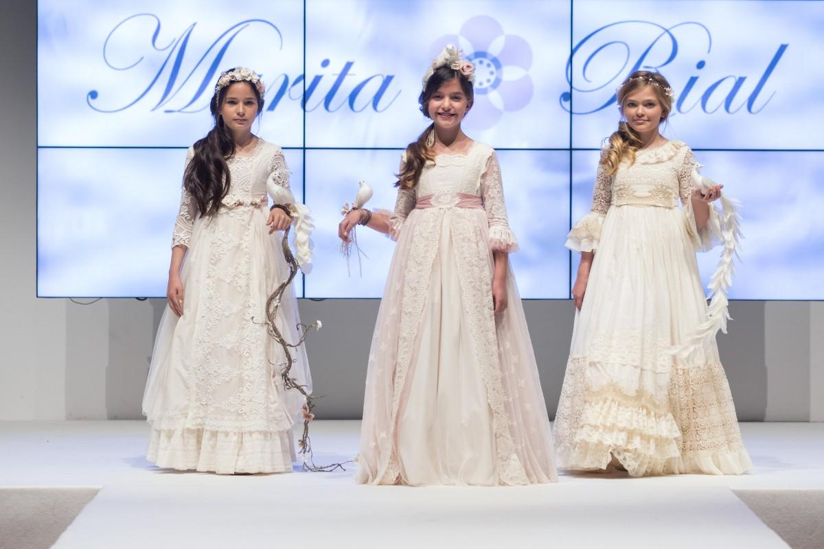 Vestidos primera comunion moda 2019