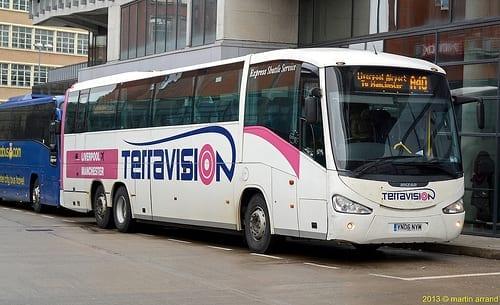 Resultado de imagen de autobuses stansted londres