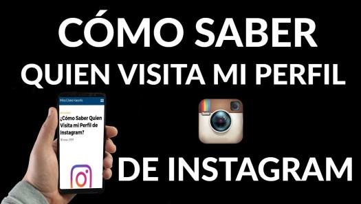 visitas en perfil de instagram