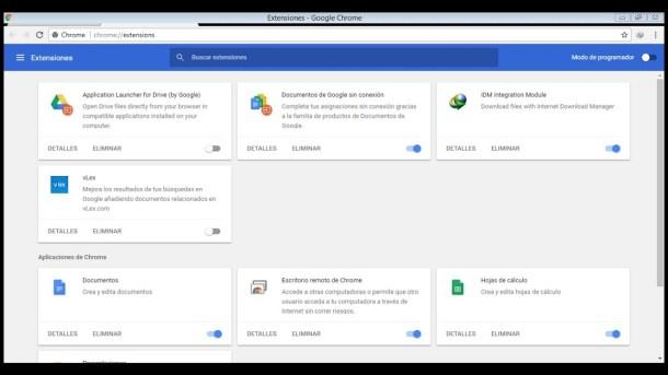 añadir extensión para Google Chrome en mi PC
