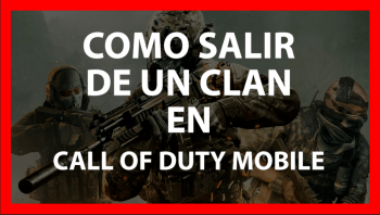 salir de un clan call of duty mobile
