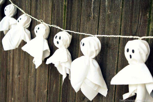 Decoración para Halloween casera: guirnaldas fansama