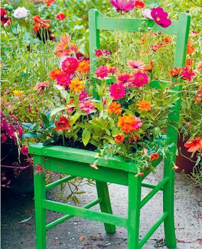 28 Centros de mesa floreros y macetas para hacer con