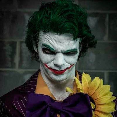 Disfraz casero de halloween para adulto del joker