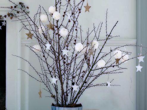 Barato y original árbol de Navidad