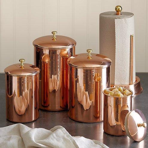 Objetos decorativos de cobre