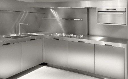 Cocinas de acero