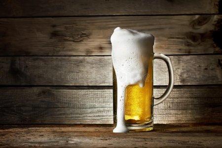 Mancha de cerveza