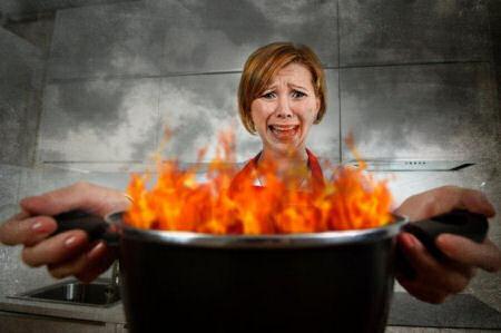 Pequeñas quemaduras