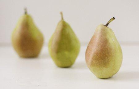 Conservar peras
