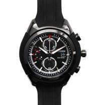 citizen-chrono-cadran-noir-bracelet-resine-noir-ca0285-01e