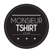 monsieur t-shirt Label