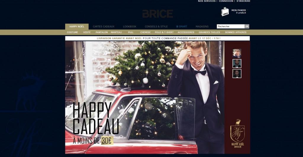 Carte Cadeau Brice.Happy Noel Avec Les Idees Cadeaux Brice