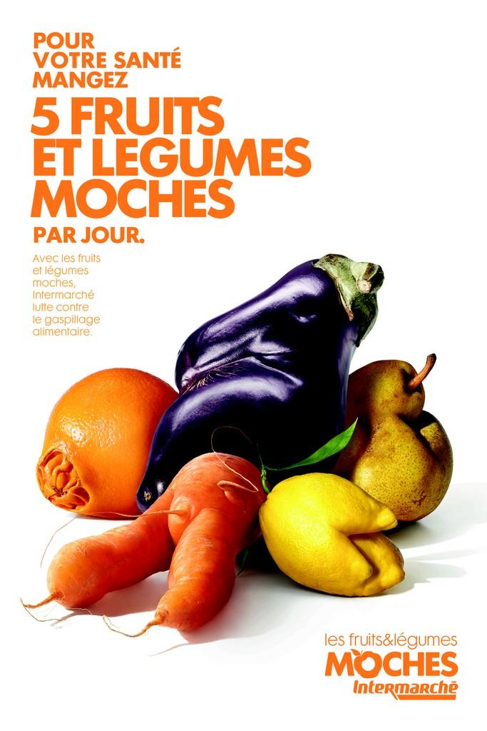 Stop au gaspillage ! Mangez des fruits et légumes moches  !