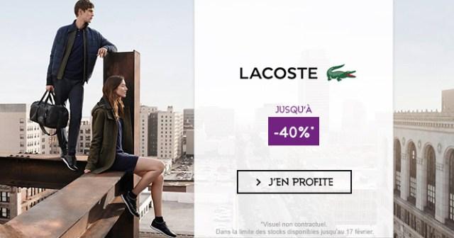 Lacoste soldes hiver 2ème démarque aux Galeries Lafayette - trucsdemec.fr, blog lifestyle masculin, mode homme, beauté homme