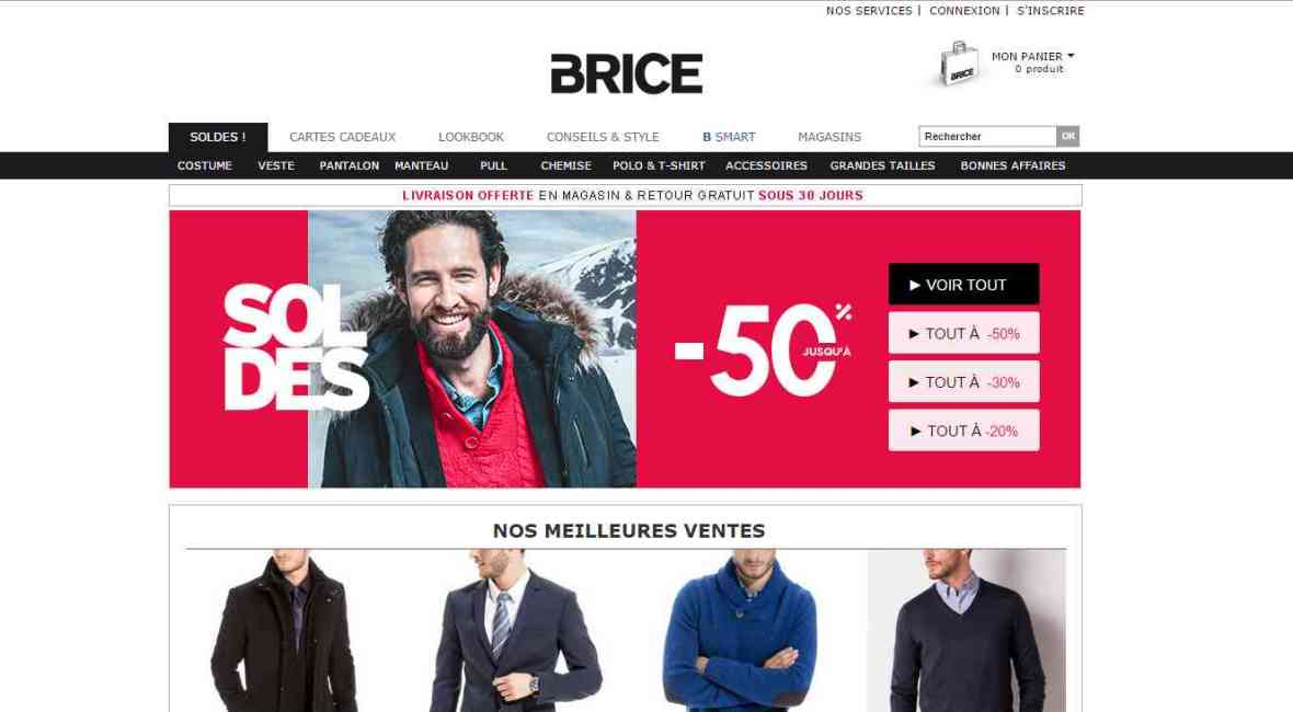 soldes hiver 2015 Brice