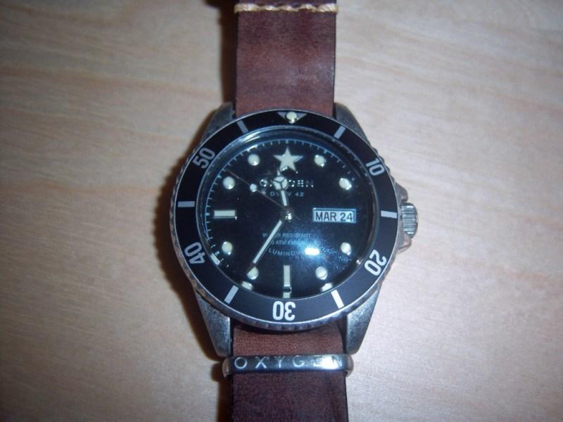 Moby Dick 40 Oxygen Watch