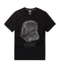 celio t-shirt Star Wars coton Collection Noel celio X Star Wars