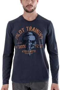 T-shirt manches longues Soldes Aeronautica Militare