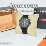 [Concours Inside] Une montre Timex Metropolitan + à remporter (terminé)