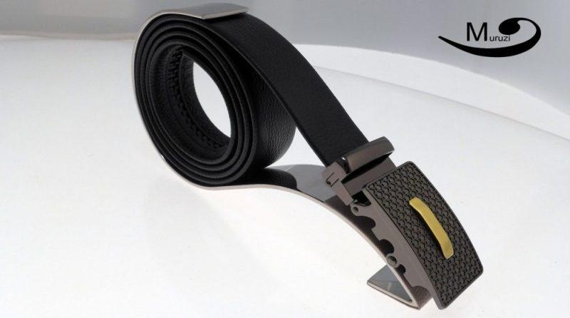 Muruzi, ceintures en cuir haut de gamme, présentation d0f60143336
