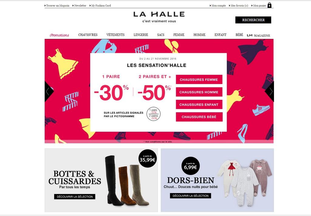 Les supers promos de La Halle pour le Black Friday