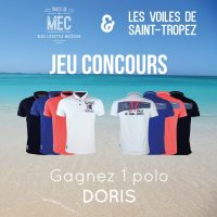 [Concours Inside] Gagne ton polo Doris Les Voiles de Saint-Tropez