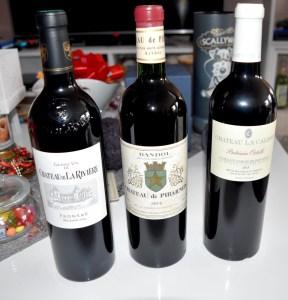 vins pour le réveillon du 31