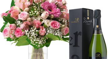 offrir des fleurs à un homme