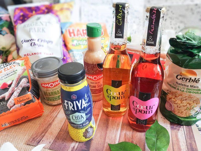 La Degustabox mai 2018 : tout pour le Pique-Nique - test & avis