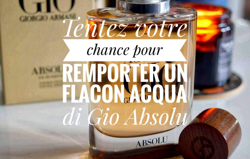 flacon Acqua di gio absolu