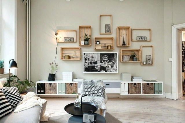 style scandinave mettez une touche nordique dans votre s jour. Black Bedroom Furniture Sets. Home Design Ideas