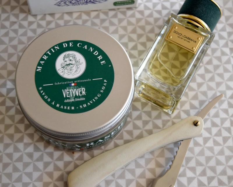 Martin de Candre : savon de rasage Vétyver - test & avis