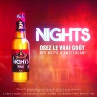 Nights, la nouvelle marque de Bière Amsterdam