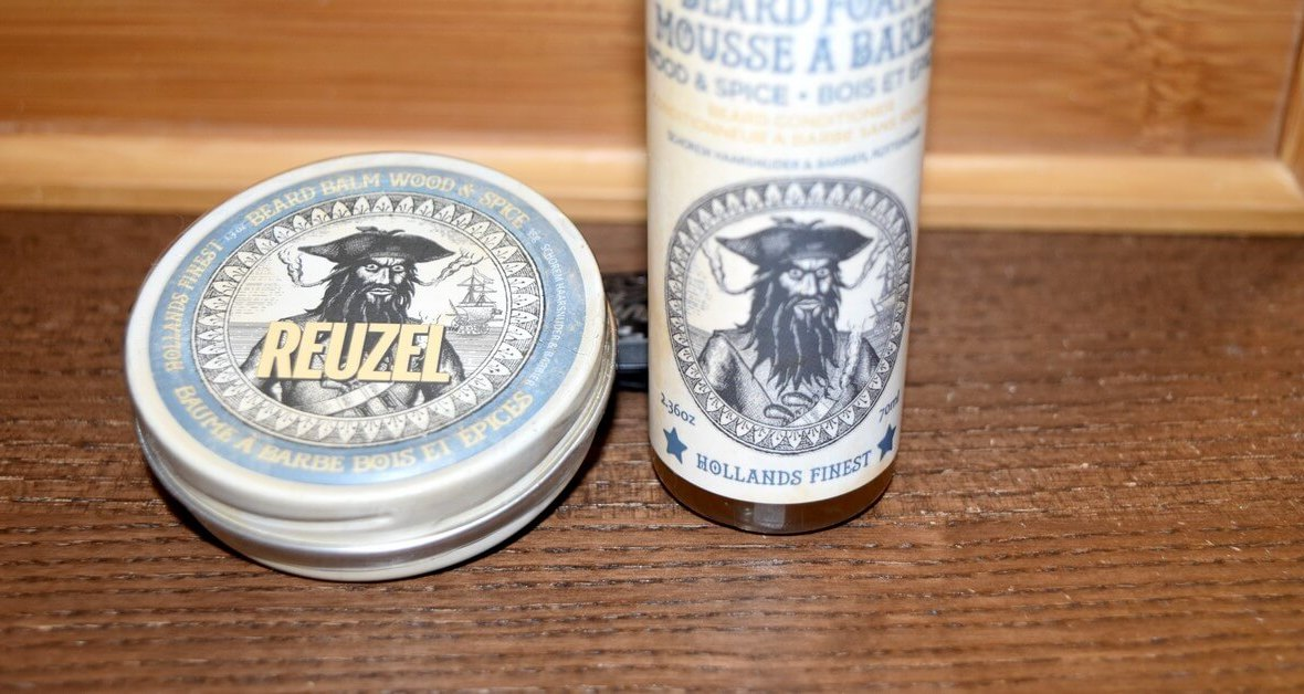 Soins à barbe Reuzel Wood and Spice