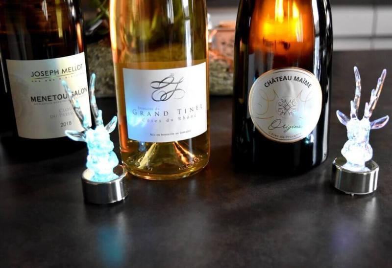 vins pour le réveillon de Noël 2019