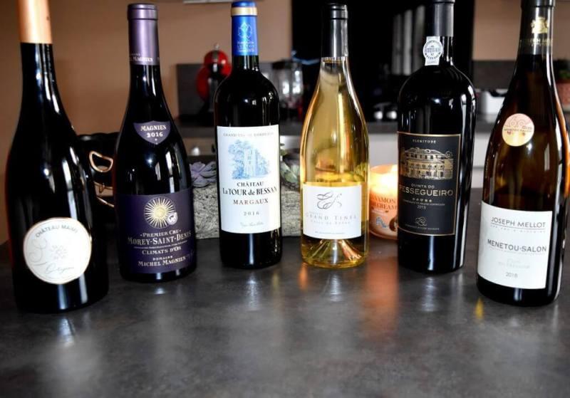 Sélections de vins pour le réveillons de Noël 2019