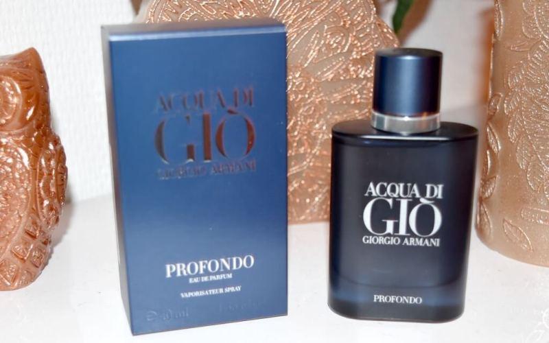 Concours Notino : tente ta chance pour remporter Acqua di Gio Profondo