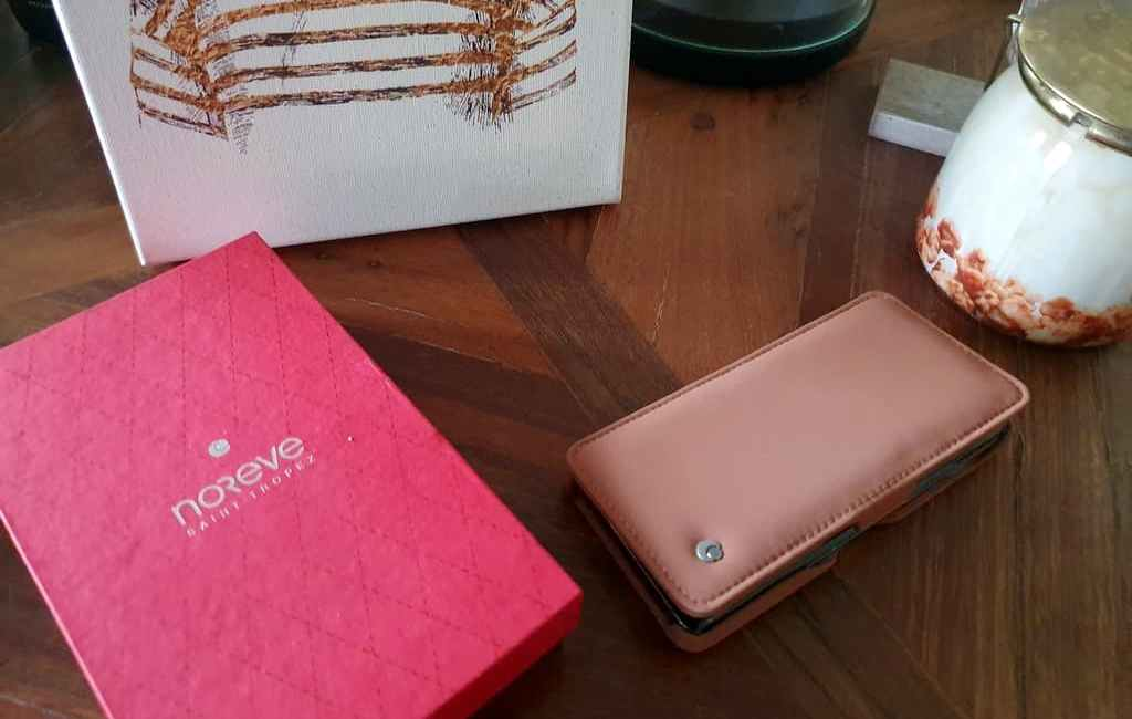 Housse Samsung S10 Noreve en cuir Vegan