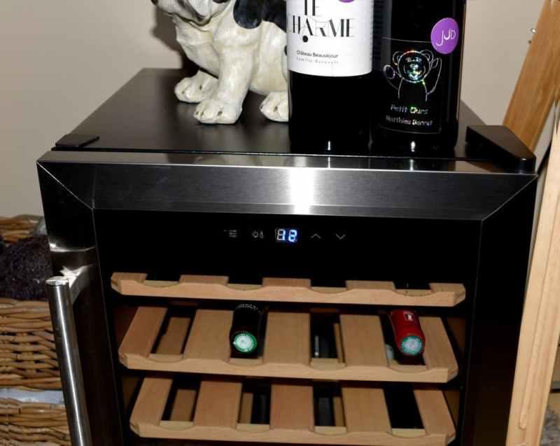 teste de la Cave à vin Cecotec Grand Sommelier 1600 SilenceWood
