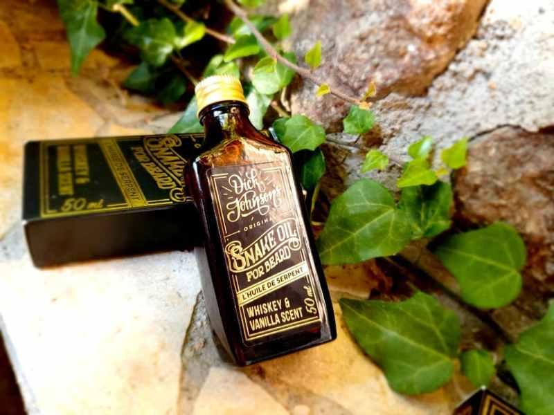L'huile à barbe Dick Johnson's Snake Oil