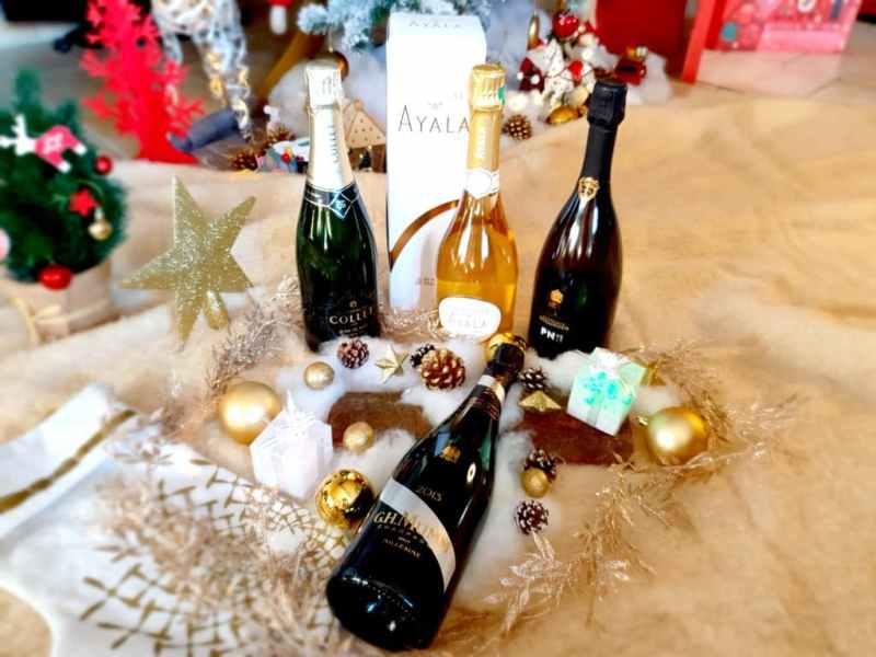 4 champagnes pour illuminer les tables de fêtes