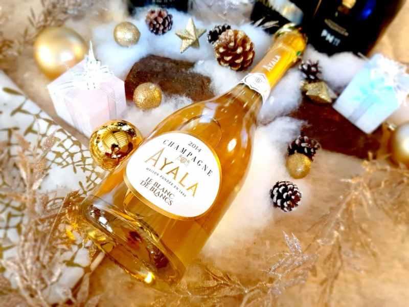 Sélection Champagnes fêtes de fin d'année : Ayala 2014