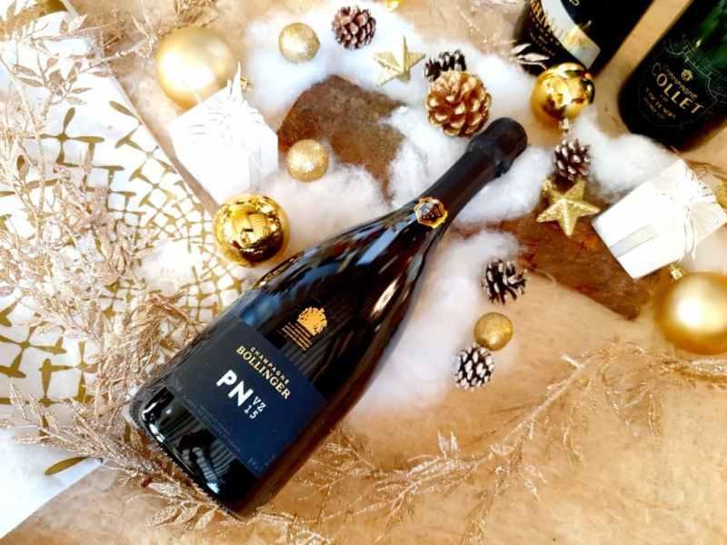 Sélection de champagnes pour les fêtes : Bollinger PN VZ 15