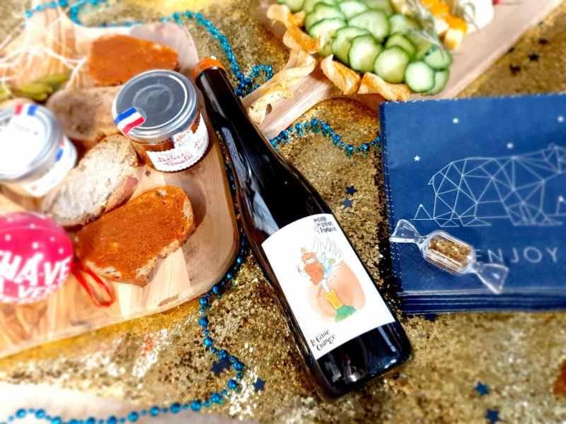 Vins pour le réveillon du jour de l'an 2021 : Domaine grandes espérances génie orange vin de France