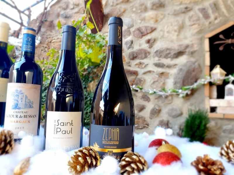 Sélection vins de Noël 2020